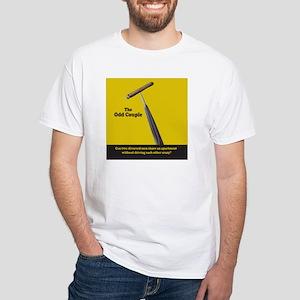 OC CIGAR & UMBRELLA - White T-Shirt