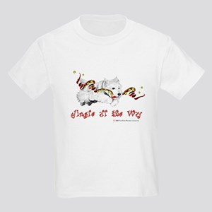 Westhighland Terrier Holiday Kids Light T-Shirt