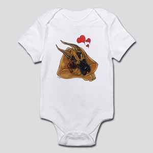 Fawn Momlove Great Dane Infant Creeper