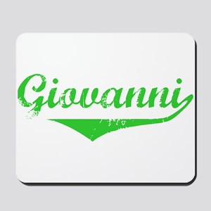 Giovanni Vintage (Green) Mousepad