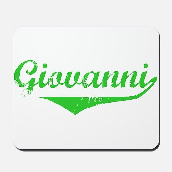 Giovanni Vintage (Green) Mousepad