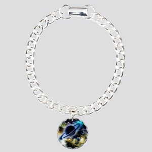 The universe with planet and stars Bracelet