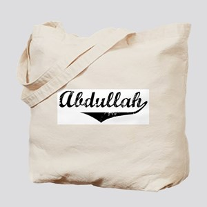 Abdullah Vintage (Black) Tote Bag