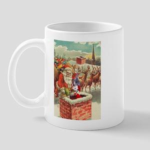 Santa's Helper Possum Mug