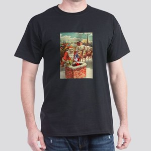 Santa's Helper Possum Dark T-Shirt