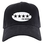 4 Star Funny Yo Mama Shirt Black Cap