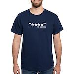 4 Star Funny Yo Mama Shirt Dark T-Shirt