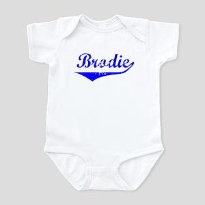 Brodie Vintage (Blue) Infant Bodysuit