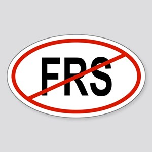 FRS Oval Sticker