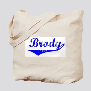 Brody Vintage (Blue) Tote Bag