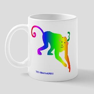 Rainbow Monkey Mug