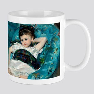 Little Girl in a Blue Armchair by Mary Cassatt Mug