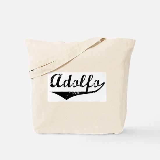 Adolfo Vintage (Black) Tote Bag