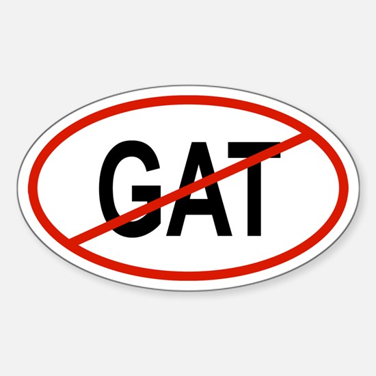 GAT Oval Decal