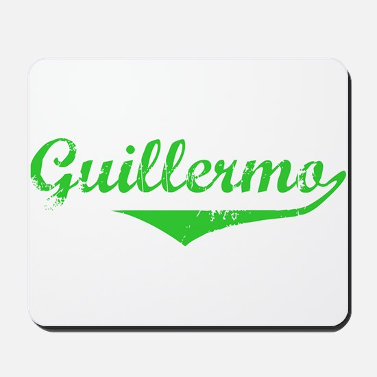 Guillermo Vintage (Green) Mousepad