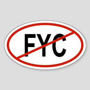 FYC Oval Sticker