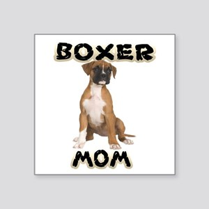 Boxer Mom Sticker