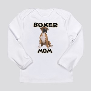 Boxer Mom Long Sleeve T-Shirt