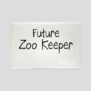 Future Zoo Keeper Rectangle Magnet