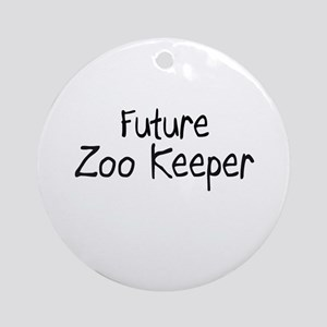 Future Zoo Keeper Ornament (Round)