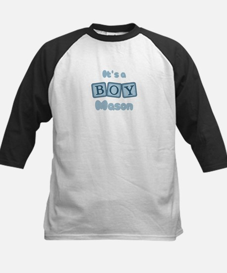 It's A Boy - Mason Kids Baseball Jersey