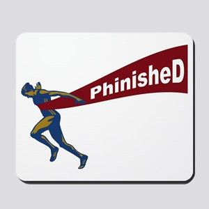 Phinished Mousepad