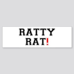 RATTY RAT! Z Bumper Sticker