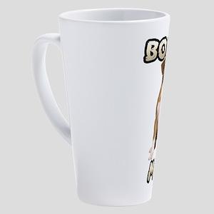 Boxer Mom 17 oz Latte Mug