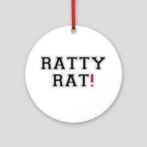 RATTY RAT! Z Round Ornament