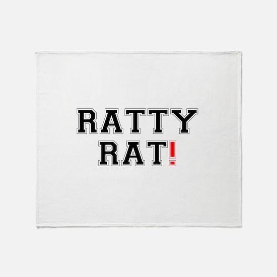 RATTY RAT! Z Throw Blanket