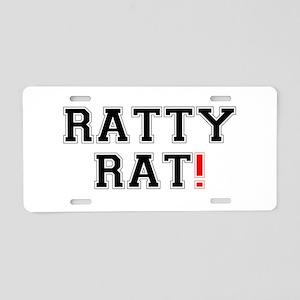RATTY RAT! Z Aluminum License Plate