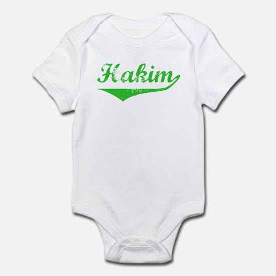 Hakim Vintage (Green) Infant Bodysuit