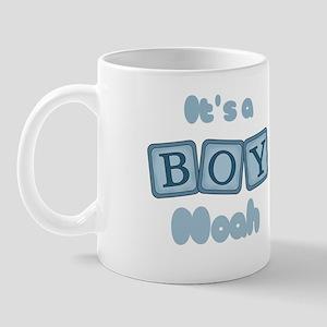 It's A Boy - Noah Mug