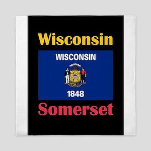 Somerset Wisconsin Queen Duvet