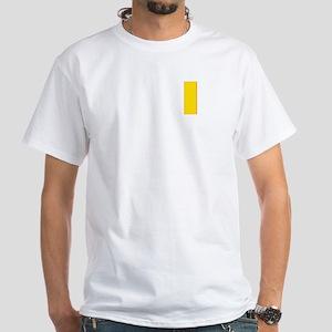 Second Lieutenant<BR> White T-Shirt