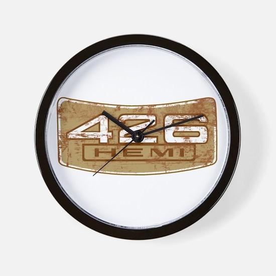 Vintage Hemi Wall Clock