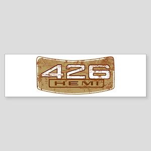Vintage Hemi Bumper Sticker