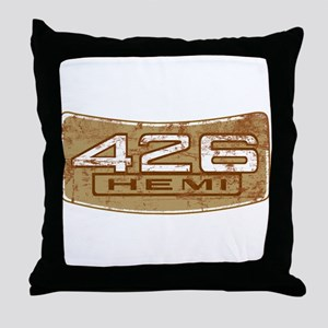 Vintage Hemi Throw Pillow