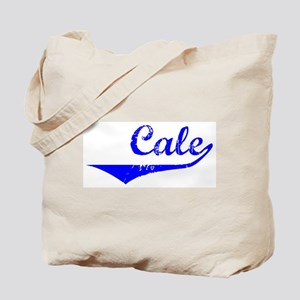 Cale Vintage (Blue) Tote Bag