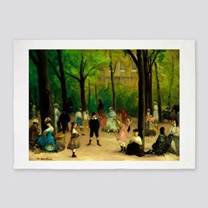 Luxembourg Gardens by William James Glackens 5'x7'
