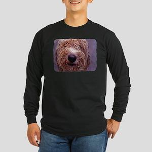 WET DOG Long Sleeve Dark T-Shirt