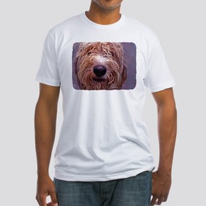 WET DOG Fitted T-Shirt