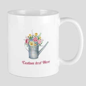 Floral Bouquet Watering Can Mugs
