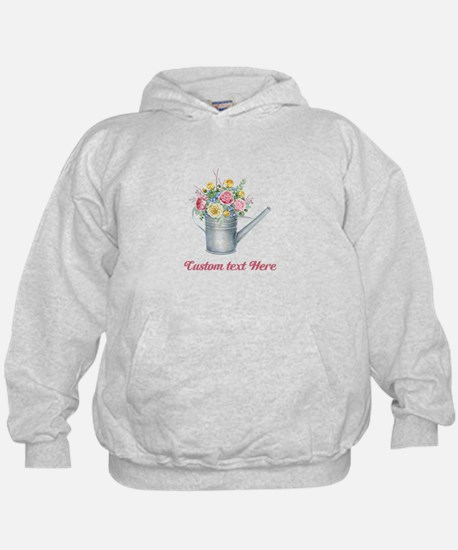 Floral Bouquet Watering Can Sweatshirt