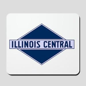Historic diamond logo illinois central t Mousepad