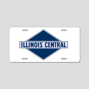 Historic diamond logo illin Aluminum License Plate