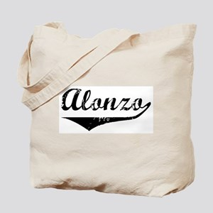 Alonzo Vintage (Black) Tote Bag