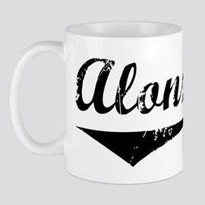Alonzo Vintage (Black) Mug