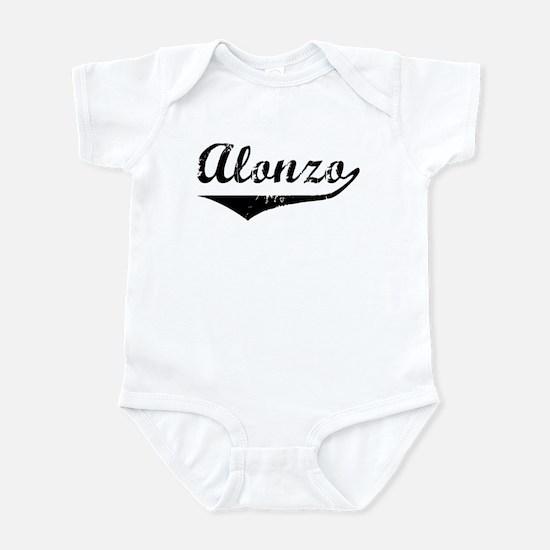 Alonzo Vintage (Black) Infant Bodysuit