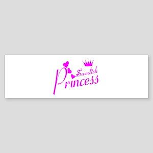 Swedish princess Bumper Sticker